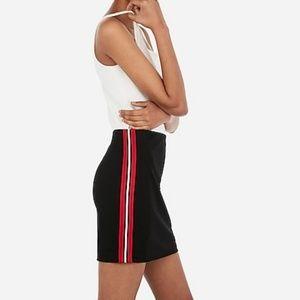 Varisty mini skirt